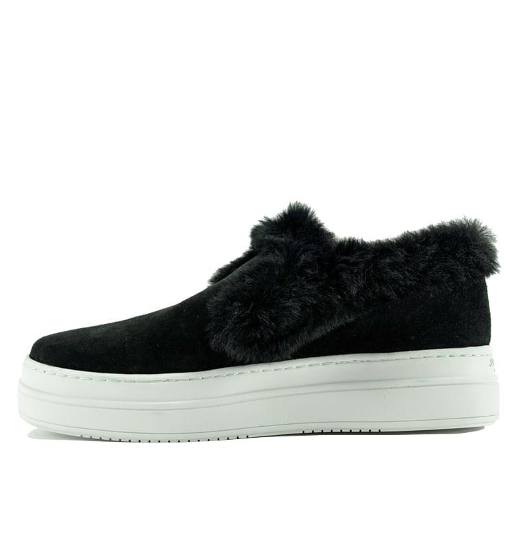 Neel-Suede-Fur-Slip-On-Sneaker-6-Black-3