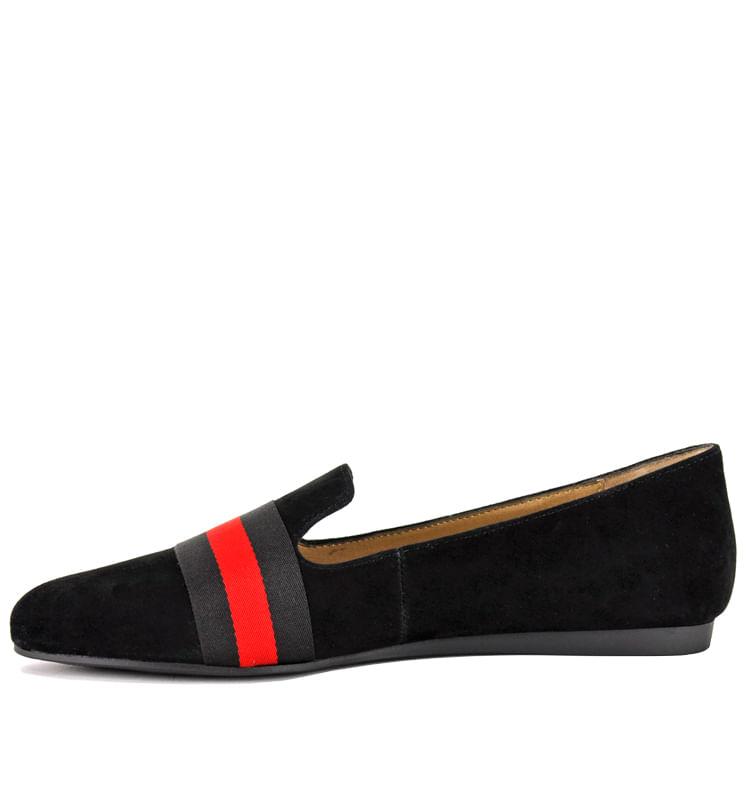 Nema-Suede-Multi-Stripe-Flat-5-5-Black-3
