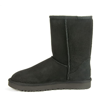 Classic-Short-II-Suede-Sheepskin-Boot-6-Black-3