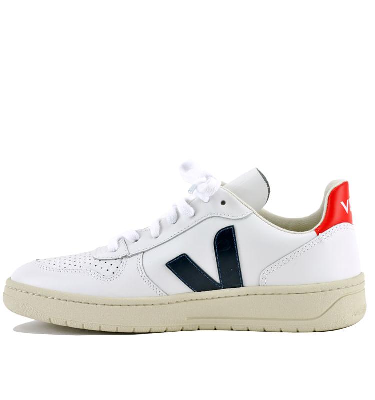 V-10-Leather-V-Sneakers-38-White-3