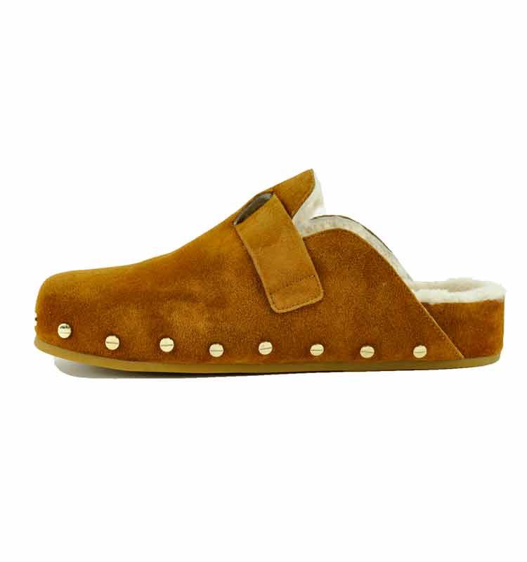 Fern-Suede-Fur-Flat-Clog-7-Caramel-3