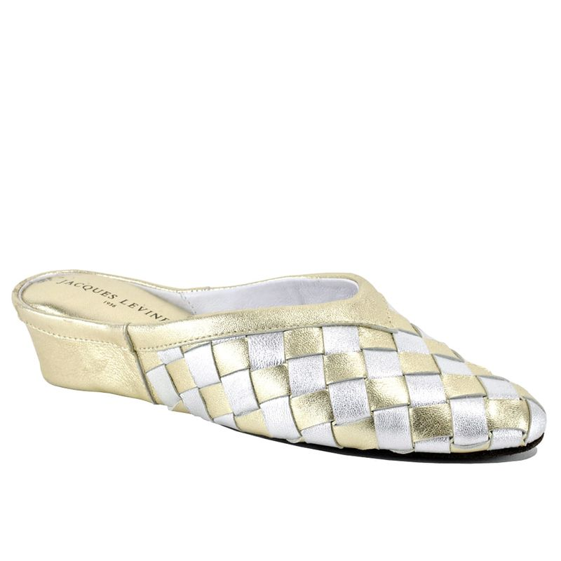 Jacques-Levine-4640-Woven-Gold-Silver---1