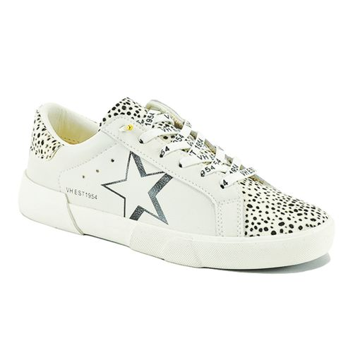 Ava Leather Haircalf Sneaker