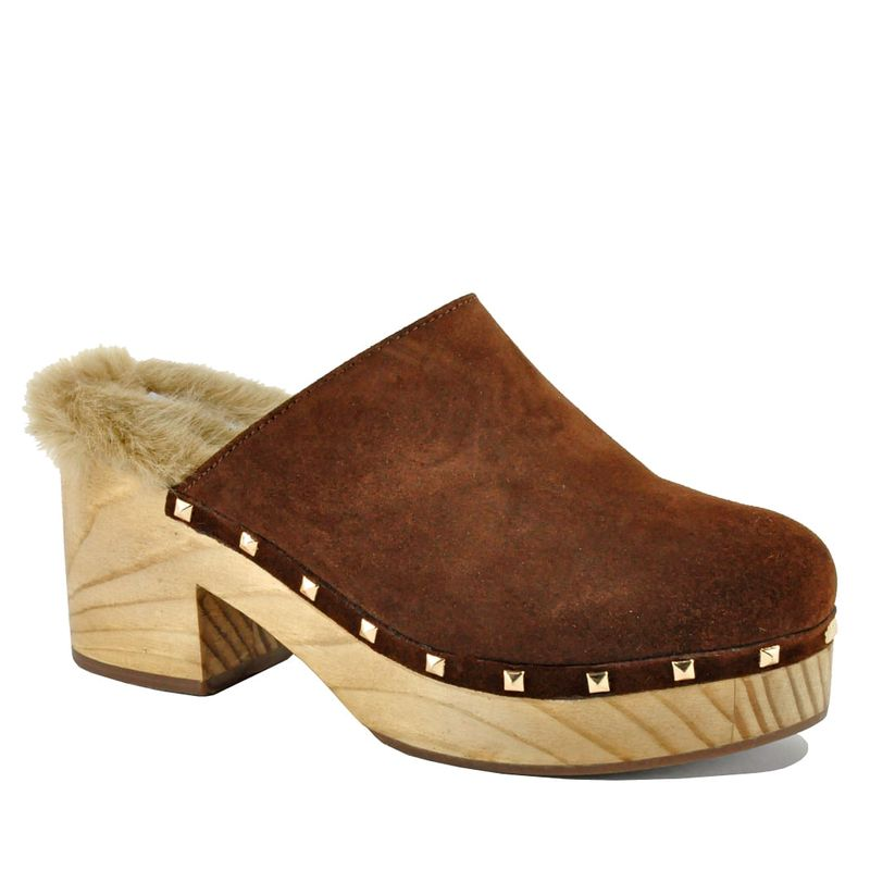 Steve-Madden-Brooklyn-Clog-Suede-Cognace--1