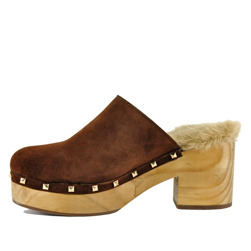 Steve-Madden-Brooklyn-Clog-Suede-Cognace--4