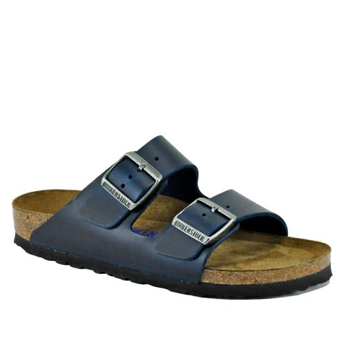 Arizona-N1013644 Oiled Leather Footbed Slide