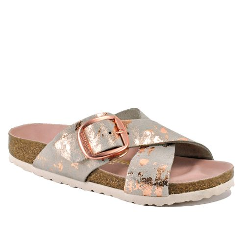 Siena-N102005 Big Buckle Leather Slide