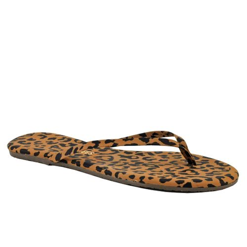 Studio Exotics Printed Leather Flat Thong