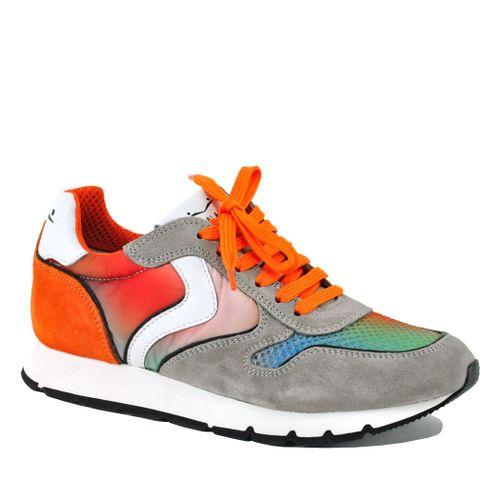 Julia-1D16 Suede Fashion Sneaker