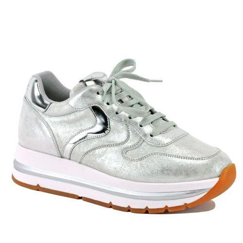Maran-0Q04 Metallic Platform Sneaker