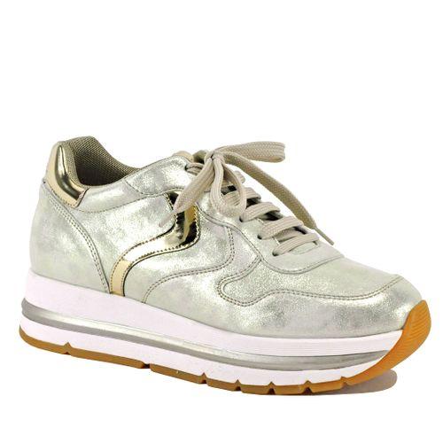 Maran-0Q06 Metallic Platform Sneaker