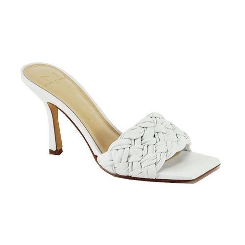 Draya Leather Heel Slide