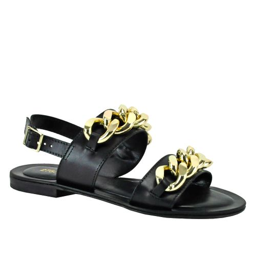 Pageau Leather Chain Sandal