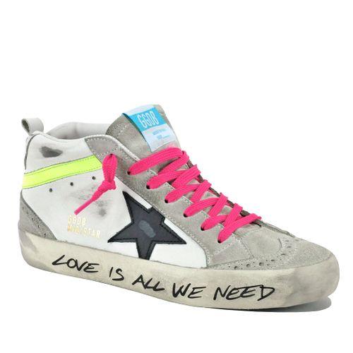 Midstar-80792 Leather Mid Top Sneaker