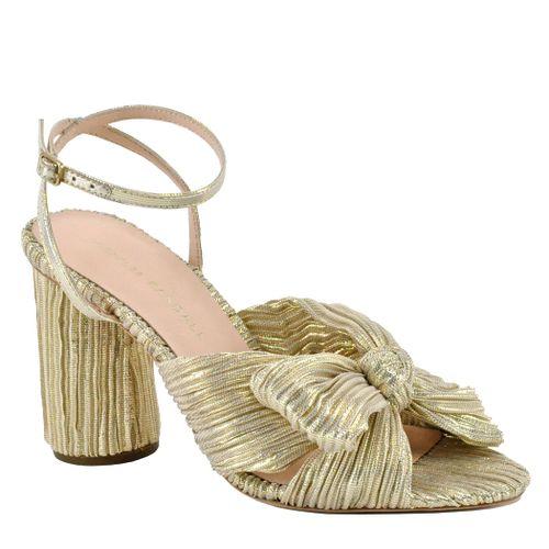 Camelia Knot Shimmer Heel