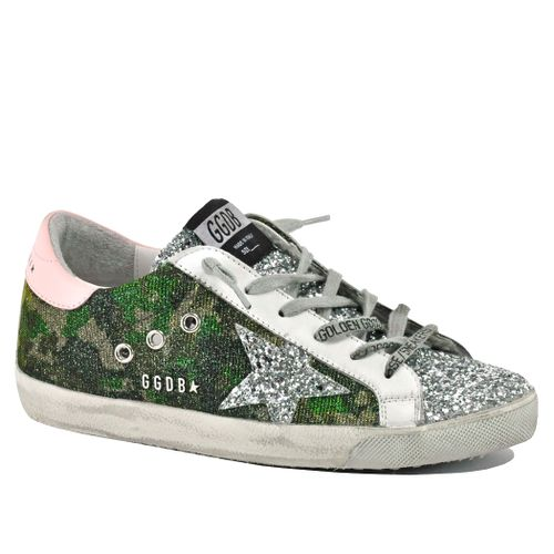 Superstar-80828 Glitter Low Top Sneaker