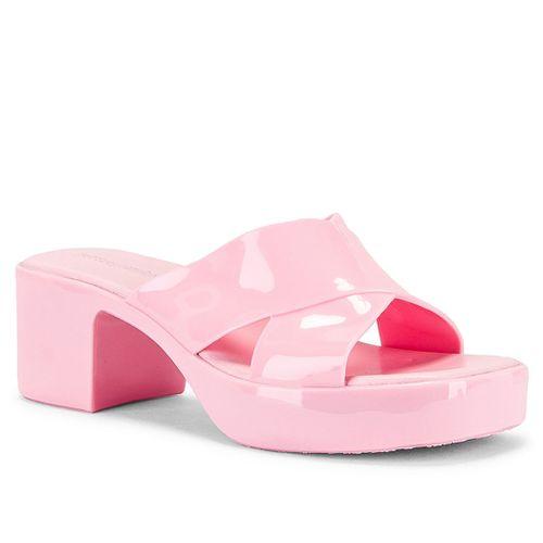 Bubblegum Jelly Platform Slide