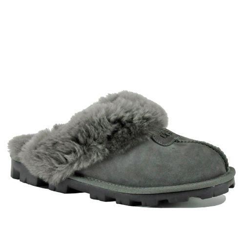 Coquette Suede Fur Lined Mule