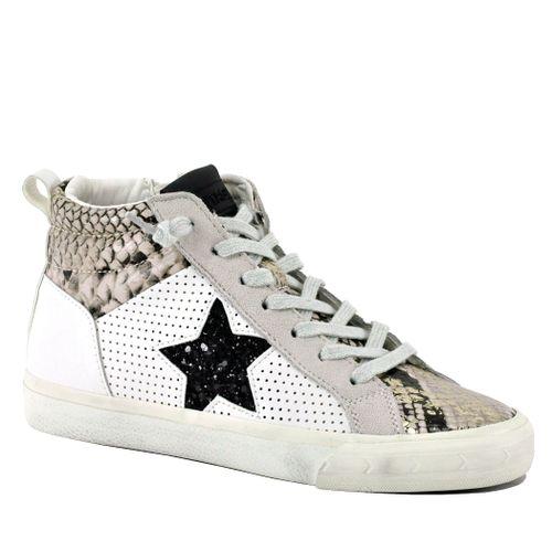 Lester Snake High Top Sneaker