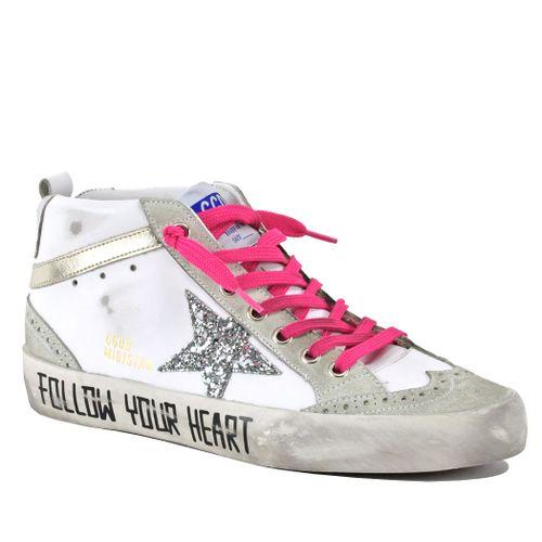 Midstar-10740 Mid Top Fashion Sneaker