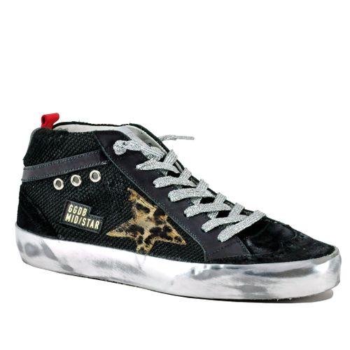 Midstar-90217 Mid Top Fashion Sneaker