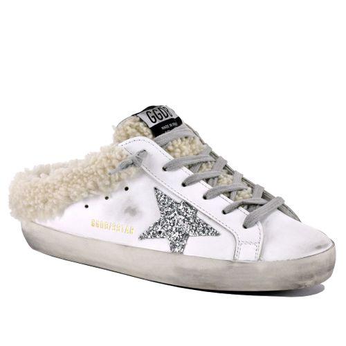 Sabot-10224 Shearling Slip On Sneaker