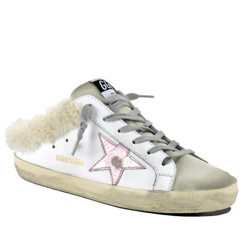 Sabot-10758 Shearling Slip On Sneaker