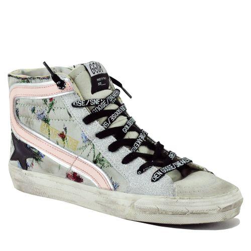 Slide-81299 Multi High Top Sneaker