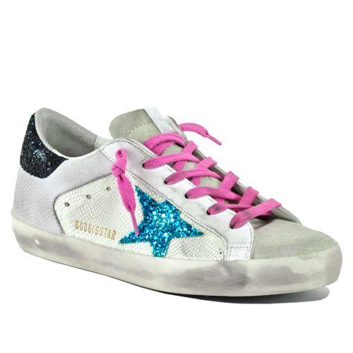 Superstar-10729 Snake Low Top Sneaker