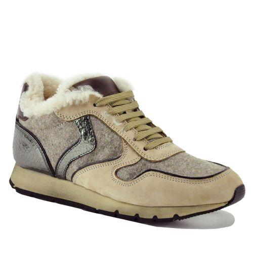 Julia-1E08 Shearling Sneakers