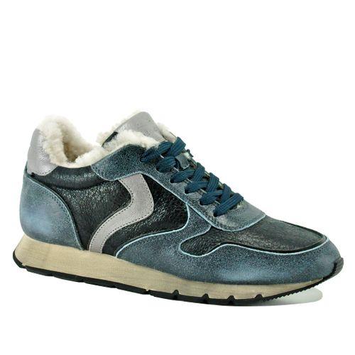 Julia-2C22 Shearling Sneakers