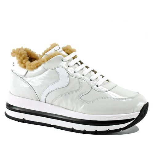 Maran-0N01 Fur Platform Sneaker