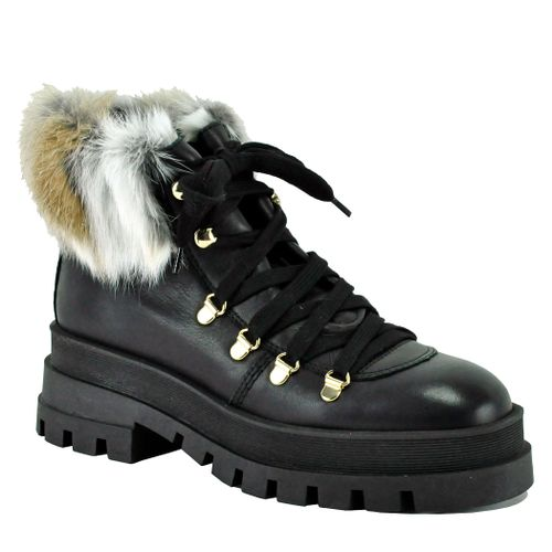Eminem Leather Lug Hiker Boot