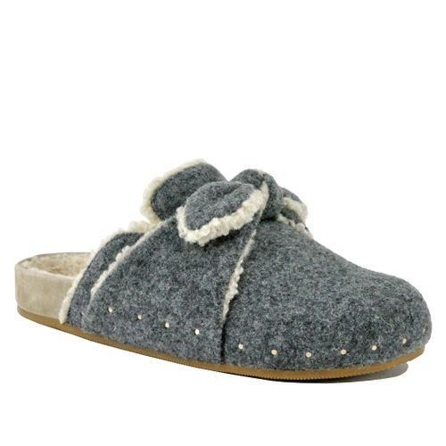 Bree Wool Footbed Clog
