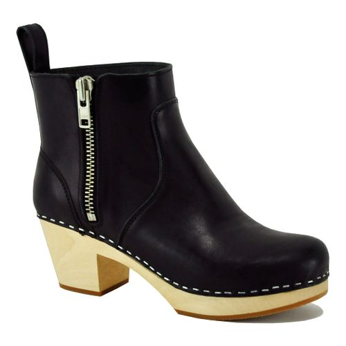 Zip It Emy Leather Wood Boot