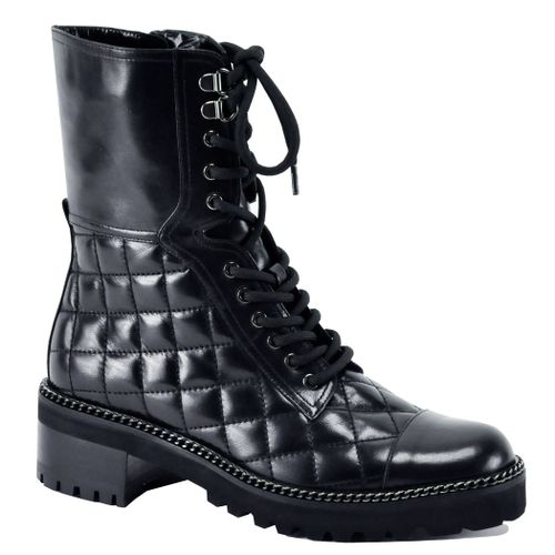 Max Leather Quilted Boot