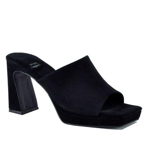 Caviar Platform Heel Slide