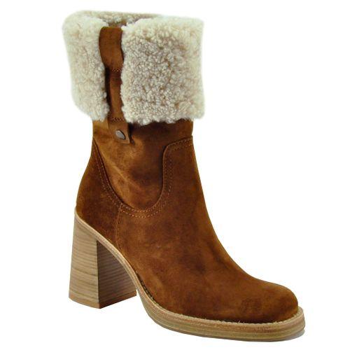 Zayn Suede Shearling Boot