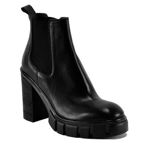 Fire Leather Platform Heel Boot