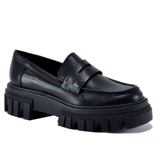 Morris Leather Lug Loafer