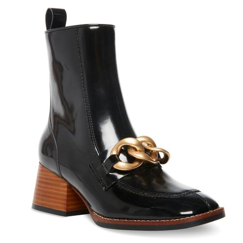 Loreen Patent Leather Chain Boot